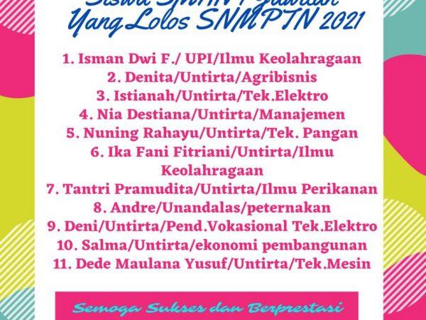 SNMPTN 2021